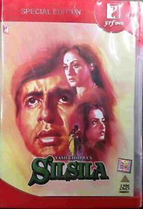 SILSILA DVD - AMITABH BACHCHAN, REKHA - BOLLYWOOD MOVIE DVD 2-DISC SPECIAL EDITI