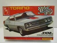 1981 AMT MATCHBOX STREET MAGIC TORINO 1/43 MODEL KIT **FACTORY SEALED**