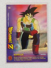 Dragon Ball Z Fighting Cards #83 - Panini Spanish DBZ