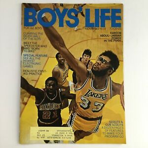 Boys' Life Magazine November 1978 NBA LA Lakers Kareem Abdul-Jabbar Power