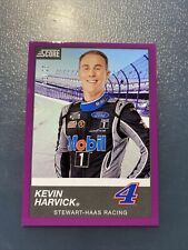 2020 Panini Chronicles Racing PURPLE SCORE card KEVIN HARVICK 1/25