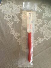 Cutco 1759 Steak Table Knife Red Handle Brand New (4 Available)