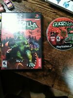Godzilla Unleashed NO MANUAL Sony Playstation 2 PS2 2007 Monster Fighter Works