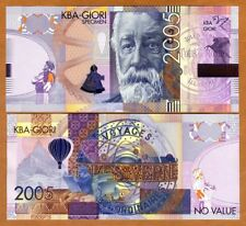 KBA-GIORI, Test / Advertising note / Specimen, 2005, Jules Verne UNC - Type 1