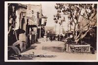 Olvera Street Los Angeles Postcard Real Photo RPPC #710 1939