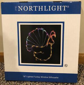 "Northlight 18"" Lighted Turkey Sillouette"