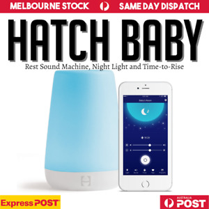 Hatch Baby Rest Sound Machine, Night Light and Time-to-Rise - AU Same Day Ship