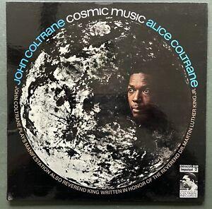 Alice & John Coltrane Vinyl LP 'Cosmic Music' - Impulse! 1972