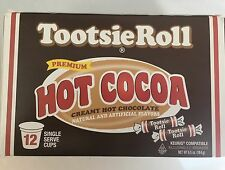 Tootsie Roll K cups Keurig Hot Cocoa Creamy Chocolate 12 Count free shipping