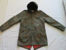 *SCOTCH & SODA SUPER PARKA WINTER JACKE MANTEL*CAMOUFLAGE*KAPUZE*XXL*TIP TOP
