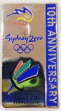 10TH ANNIVERSARY SYDNEY OLYMPIC GAMES 2000 PIN BADGE COLLECT #648