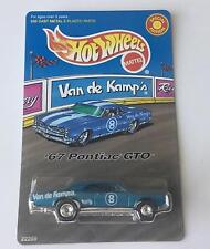 VAN DE KAMPS HOT WHEELS 1967 PONTIAC GTO 389  LIMITED EDITION 1/64 1998 RELEASE