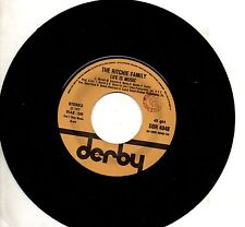 RITCHIE FAMILY disco 45 giri MADE in ITALY Life is music + Lady Luck 1977