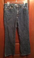 "Michael Kors sz 6/31 denim stretch jeans 33.5"" waist 8.5"" rise & 30"" Inseam EUC"