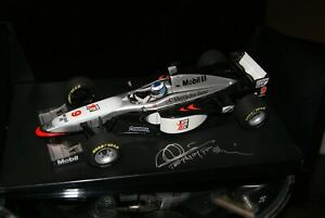 1:18 Minichamps McLaren Mercedes MP4/12 M.Häkkinen 1997 *signed*