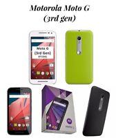 MOTOROLA Moto G 3rd Gen XT1541 White And Green Boxed Unlocked LikeNew Smartphone