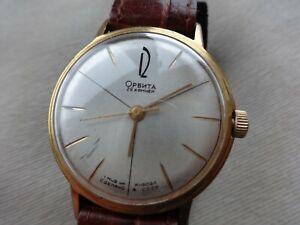 Vintage Rare Poljot  Cyrillic Orbita 29j Automatic Soviet Russian watch. Repair.