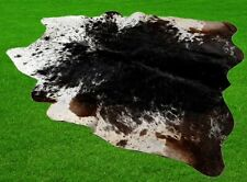 """New Cowhide Rugs Area Cow Skin Leather 22.96 sq.feet (58""""x57"""") Cow hide A-5886"""