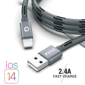 Fast Charging Cable 3.0 USB Type C Smart Data Sync iPad iPhone 12,11, X, 8, 7