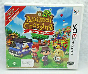 Animal Crossing New Leaf Welcome Amiibo - Nintendo 3DS 🎮 PAL