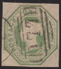 1847 Great Britain/Great Britain - Sg 54 1sh. Green Used Very Fine