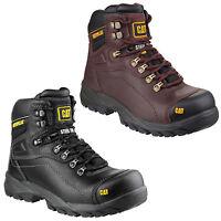 CAT Caterpillar Diagnostic Mens Safety Steel Toe Cap Work Hiker Boot UK6-12