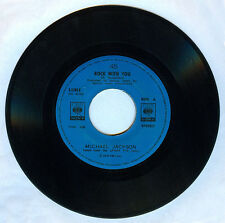 Philippines MICHAEL JACKSON Rock With You 45 rpm Record