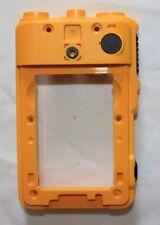 Motorola Vertex Standard EVX-S24 Replacement Yellow Rear Housing With PTT