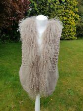 MINT VELVET Fur Cotton Gilet Size L