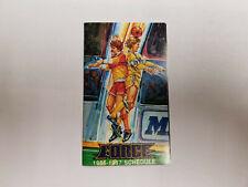 Cleveland Force 1986/87 MISL Indoor Soccer Pocket Schedule - AmeriTrust
