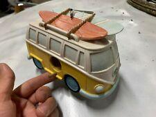 New Yellow Vw Volkswagen Split Window Bus Camper Bird House Nwt