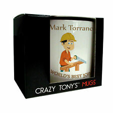 Mens Joinery Gift, Joiner Mug, Crazy Tony's, Personalised Gift Ideas For Joiner