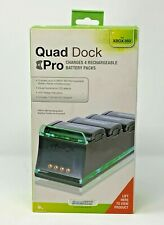 Dreamgear Quad Dock Pro Xbox 360 Recharageable battery dock