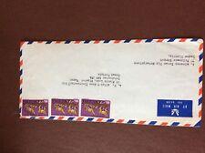 b1u ephemera stamped franked envelope Nigeria x 3 a f allen
