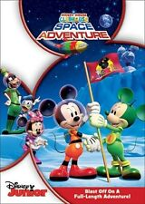 MICKEY MOUSE CLUBHOUSE SPACE ADVENTURES New Sealed DVD Disney