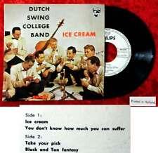 EP Dutch SWING COLLEGE BAND: Ice Cream (Philips 422 393 PE) NL Promo