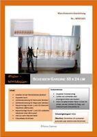 PDF Anleitung für Strickmaschine Scheibengardiene Vorhang MS01501