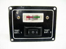 Boat Marine Battery Indicator Test Panel. 2 Batteries, pre-wired.
