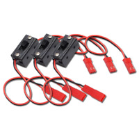 3x Ein/Aus Schalter Schalterkabel Powerschalter Empfänger Lipo 2x JST Stecker RC