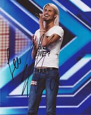 X FACTOR: RYLAN CLARK SIGNED 10x8 SEXY LIVE PHOTO+COA *BIG BROTHER*