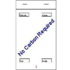 "Restaurant Pads 50 x Triplicate NCR 3.75"" x 6.5"" Pad 200 Waiters Pads Quality"