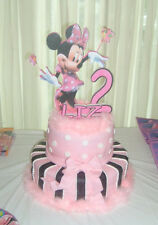 Minnie mouse  Birthday Party Cake topper  pk ps 0124