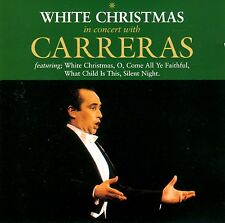 WHITE CHRISTMAS, IN CONCERT WITH CARRERAS, BRAND NEW FACTORY SEALED CD (1992)