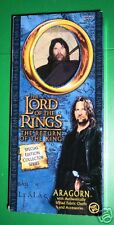 """Lord of the Rings 12 """" collector series ARAGORN  mib"""