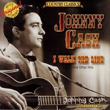 JOHNNY CASH I WALK THE LINE AND OTHER HITS BRAND NEW CD