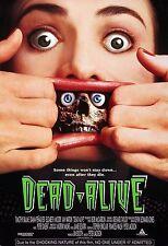 DEAD ALIVE aka BRAIN DEAD BRAINDEAD Movie Poster 1992 Horror
