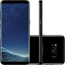 Samsung Galaxy S8 sm-g950f Negro Medianoche 64gb DESBLOQUEADO DE FÁBRICA 4g LTE