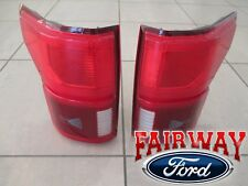 2018 F-150 OEM Ford LED with Blind Spot Tail Lamps Lights Pair RH & LH NEW STYLE