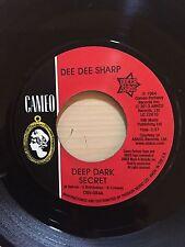 DEE DEE SHARP DEEP DARK SECRET CAMEO RECORDS 084 RE-ISSUE