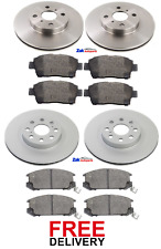 FOR TOYOTA MR2 1.8 VVTi (1999-2006) FRONT & REAR BRAKE DISCS & PADS SET *NEW*